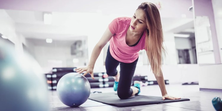 A Pilates Ball Is the Only Prop You Need For This Full-Body Workout