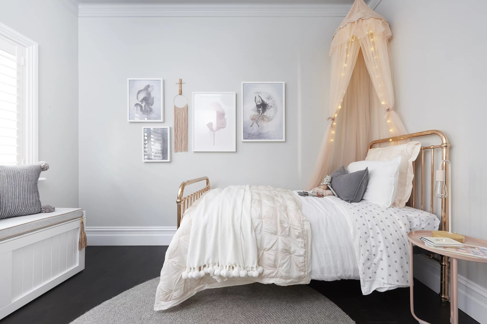 Ronnie And Georgia Kids' Room Copied From Pinterest