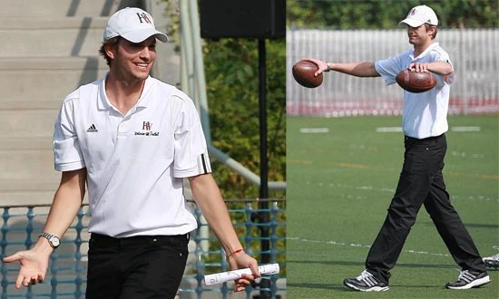 Photos of Ashton Kutcher as the New Assistant Coach of ...