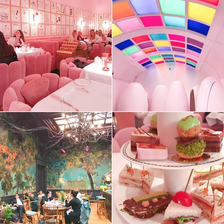 Afternoon Tea At Sketch London POPSUGAR Smart Living
