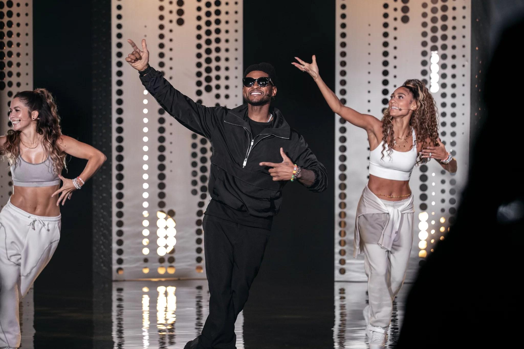 Usher Peloton Dance Cardio
