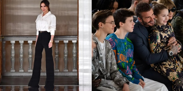 Victoria Beckham's Fall 2020 Present: Hands as Belt Buckles and New Ways to Wear Knits