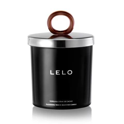 Lelo Flickering Touch Massage Candle Vanilla & Crème de Cacáo