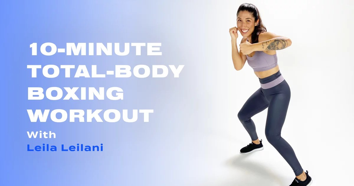 , 10-Minute Total-Body Boxing Workout With Leila Leilani, Nzuchi Times National News