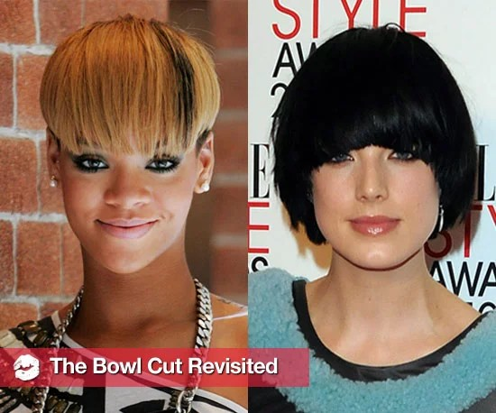 Woman Sugar Bowl Haircut