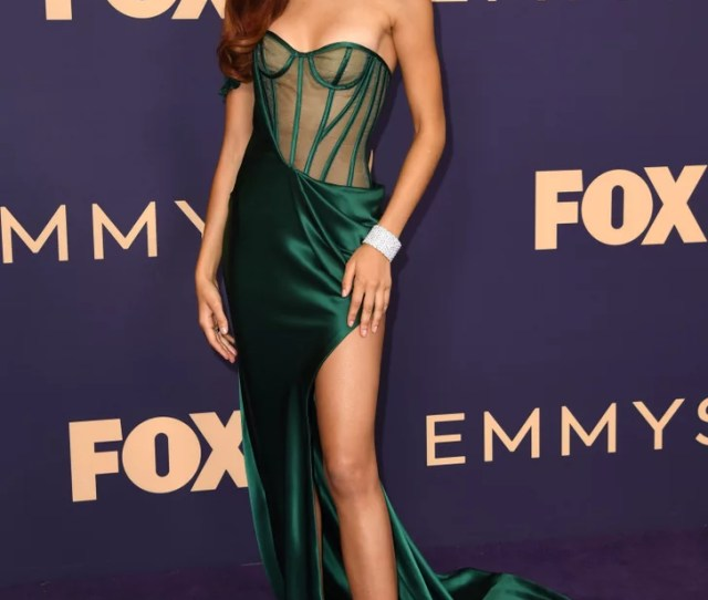 The Sexiest Dresses At The Emmys  Popsugar Fashion