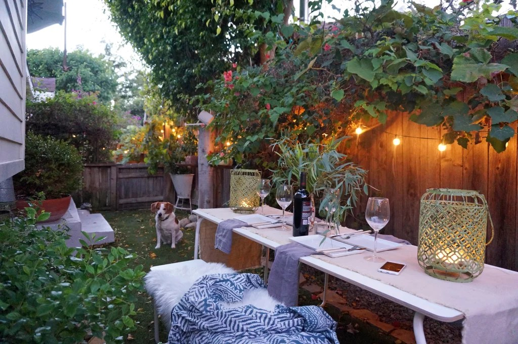 Whitney's love of overgrown greens is evident in her cozy ... on Cozy Patio Ideas id=12140