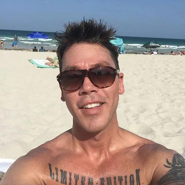 David Bromstad Chest Tattoo
