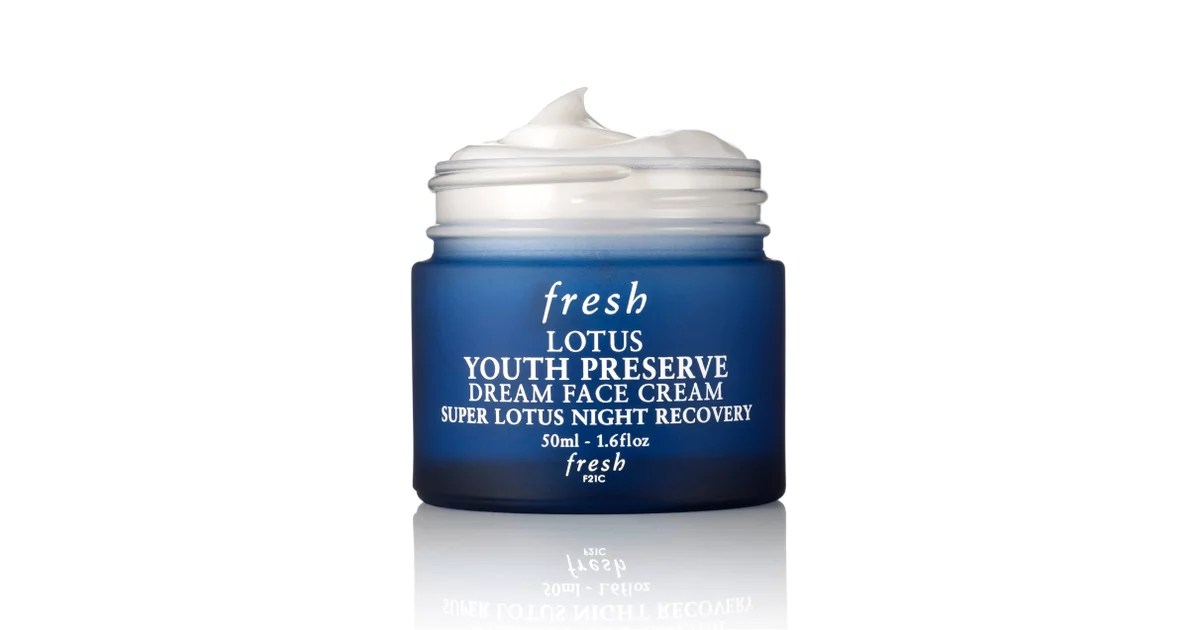 Fresh Lotus Youth Preserve Face Cream Australia
