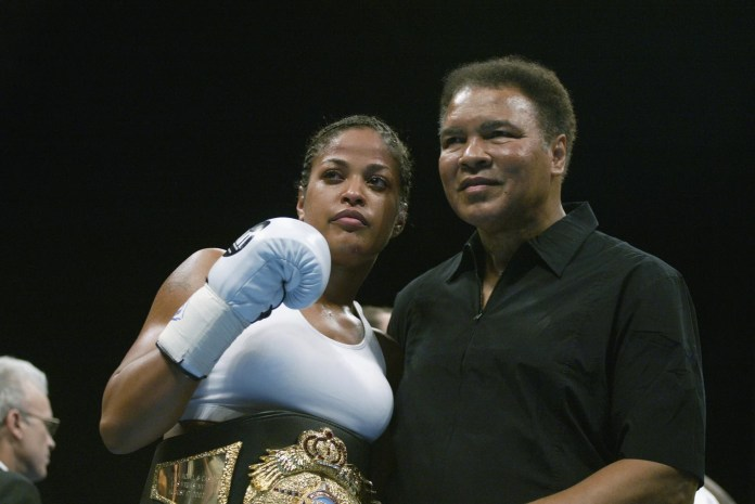 Laila Ali Quotes on the Significance of Girls in Sports activities