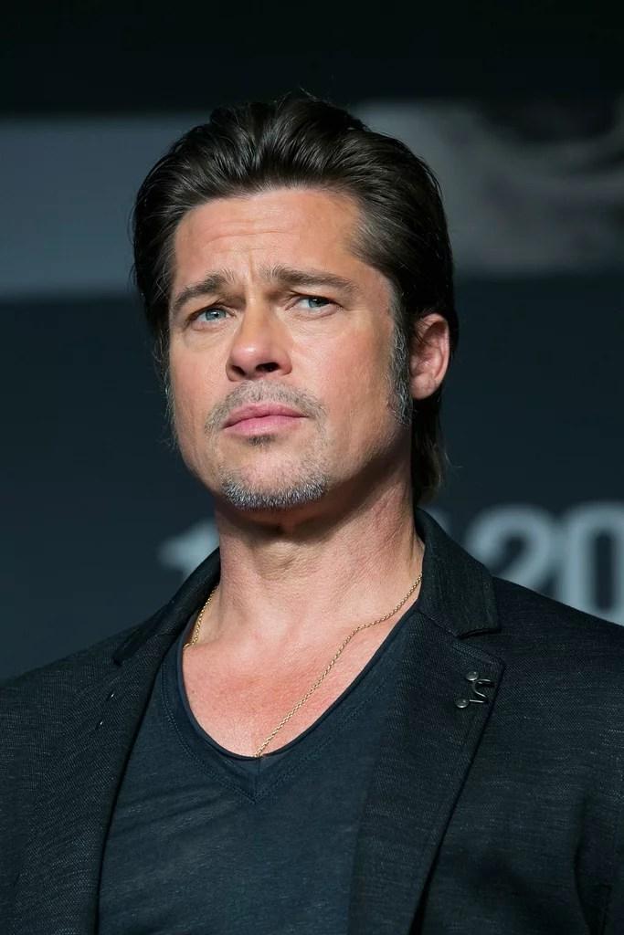 Brad Pitt Best Hair Moments POPSUGAR Beauty Australia