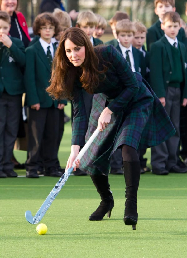 Kate Middleton Visiting St. Andrew's School in England ...