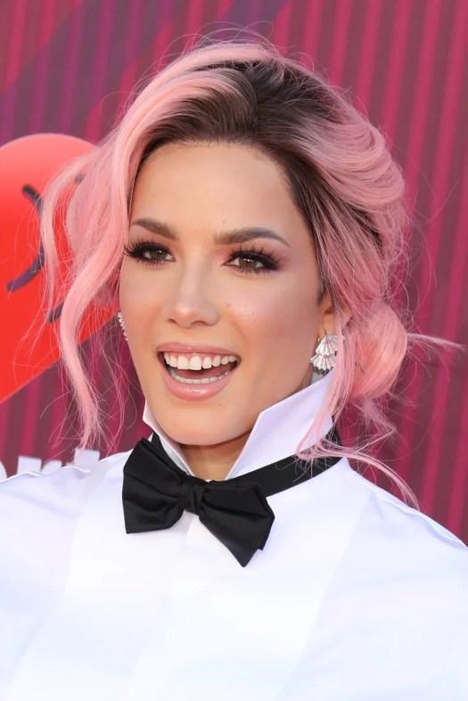 Halsey Pink Hair iHeartMusic Awards 2019 | POPSUGAR Beauty ...