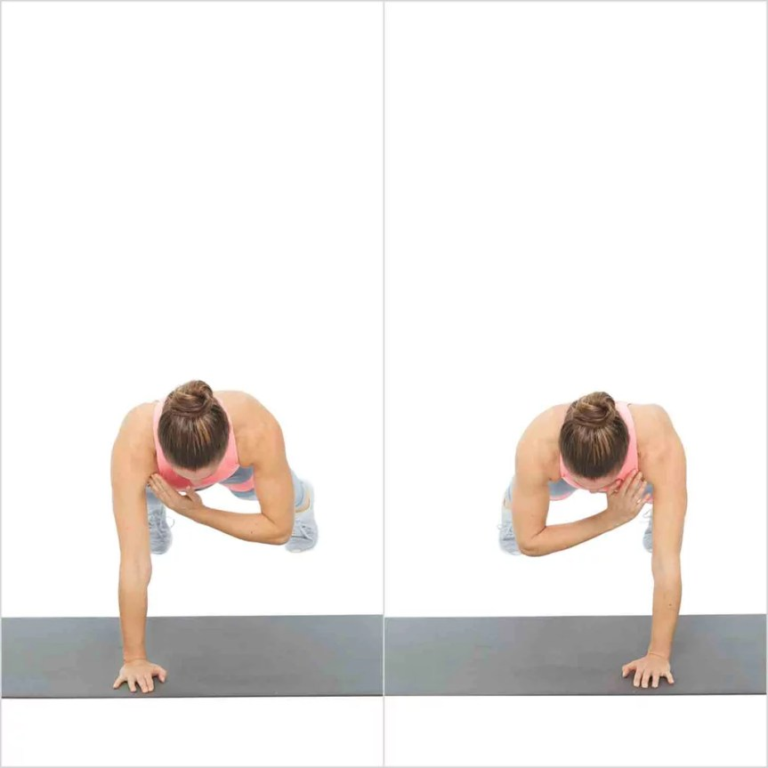 Plank With Shoulder Tap