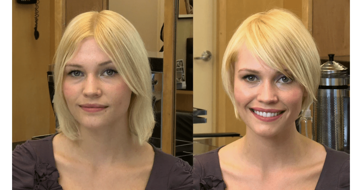 Hairstyles For A Square Face Shape POPSUGAR Beauty