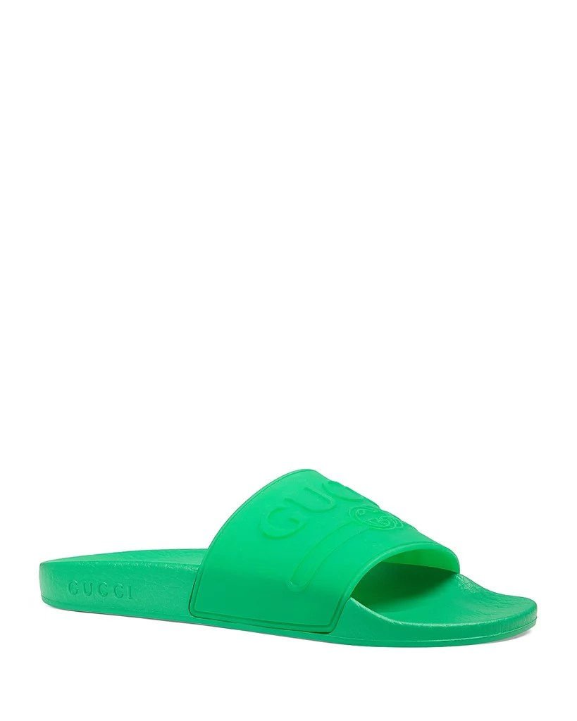 e98746192540a7 Gucci Slides Women In Clever Bow Gucci Sandal Sandal Bow Women ...