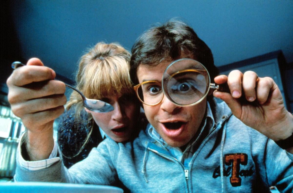 HONEY, I SHRUNK THE KIDS, Marcia Strassman, Rick Morannis, 1989. (c) Buena Vista Pictures/ Courtesy: Everett Collection.