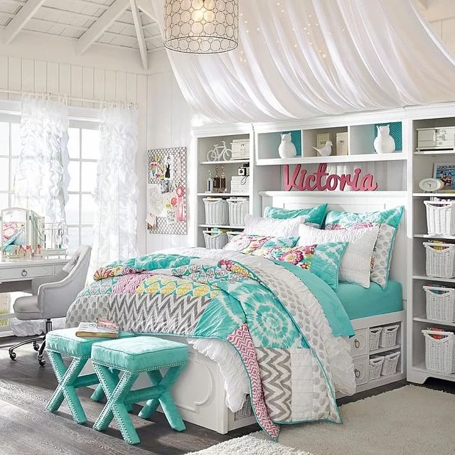 Find a way to organize all of the stuff that comes with ... on Tween Room Ideas Girl  id=17199