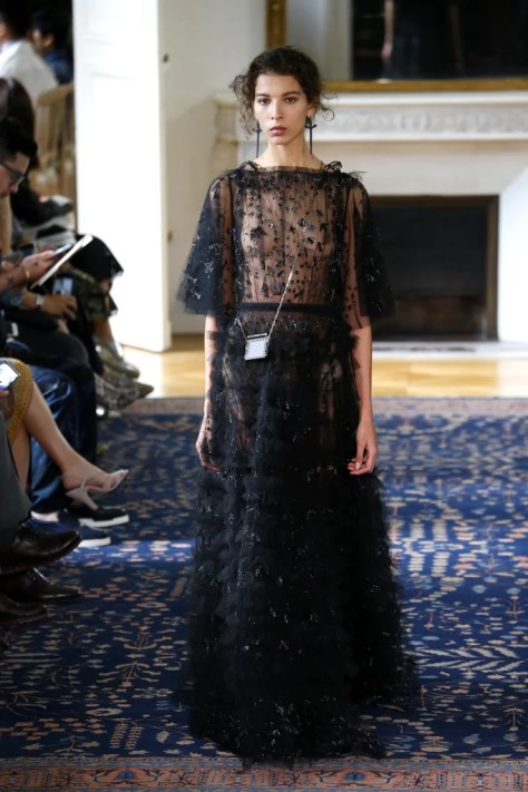 The Valentino Spring 2017 collection was revealed during Paris Fashion Week on October 2.