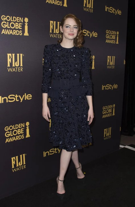 Emma Stone Wearing Michael Kors Collection