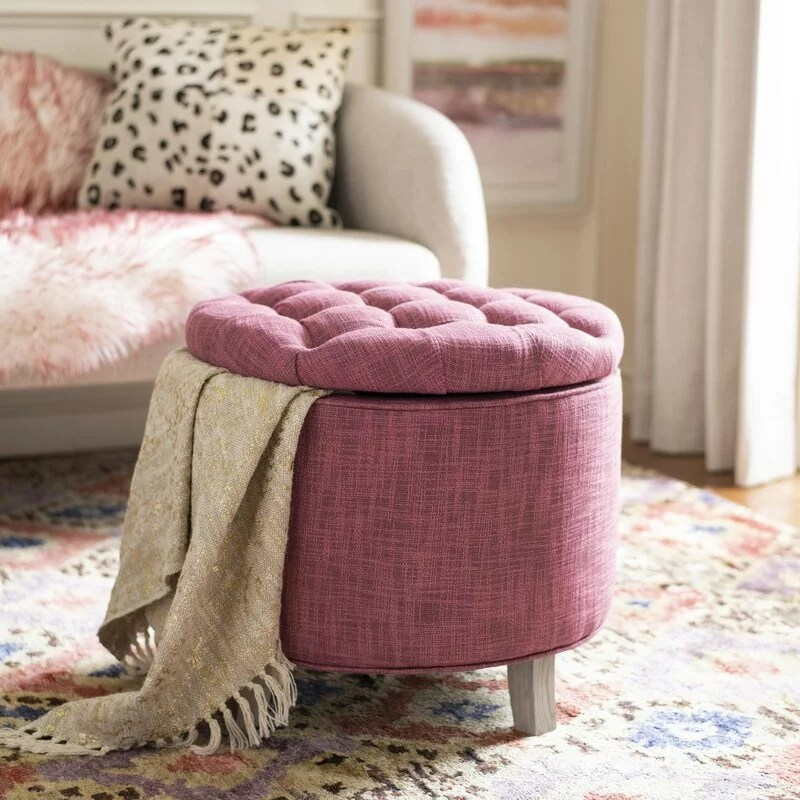 space saving ottomans with storage from