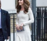 Kate Middleton's Not Wearing a Bridal Outfit, but Damn, It Comes Close