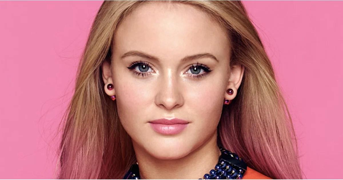 Zara Larsson Beauty Tips Interview POPSUGAR Beauty