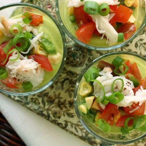 Chilled Corn and Avocado Soup | POPSUGAR Food