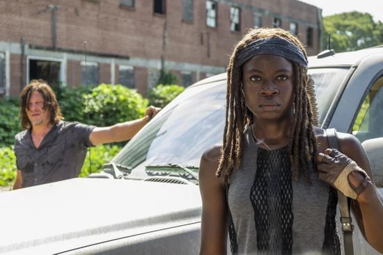 Daryl and Michonne - The Walking Dead