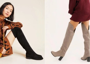 18 Over-the-Knee Boots You Can Easily Take From Day to Night  Starting at Just $40