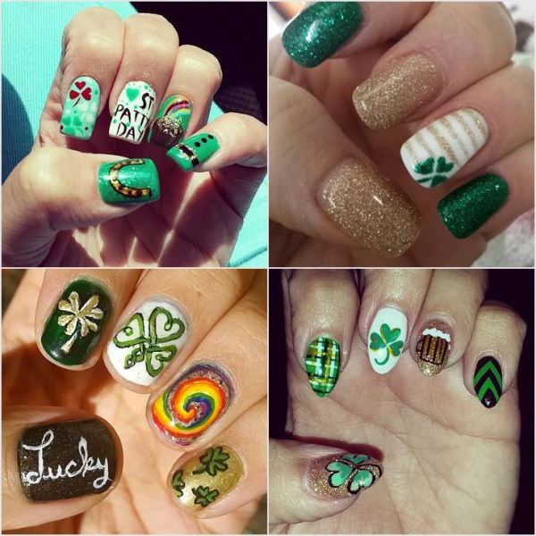 Best St. Patrick's Day Nail Art From Instagram | POPSUGAR ...
