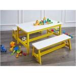 Amazonbasics Indoor Kids Table And Bench Set Best Kids Furniture On Sale On Amazon Popsugar Australia Parenting Photo 2