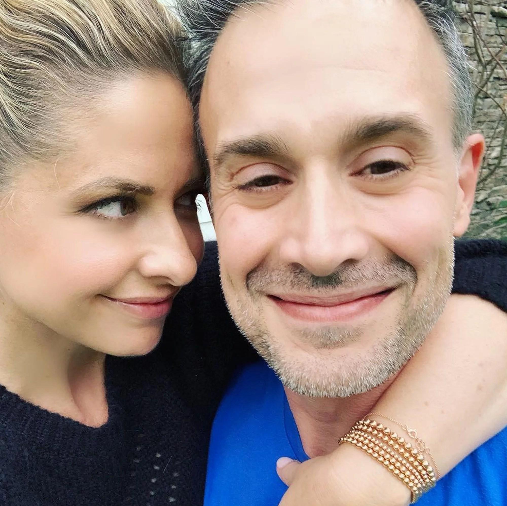 Sarah Michelle Gellar Birthday Post For Freddie Prinze 2019 Popsugar Celebrity