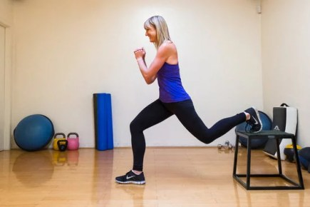 Image result for ELEVATED LUNGE