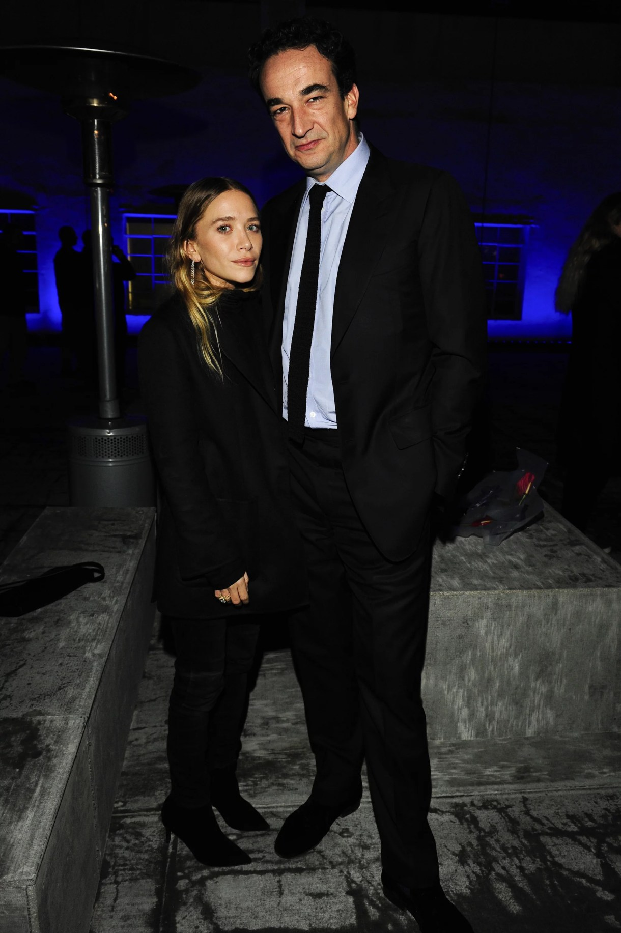 LOS ANGELES, CA - DECEMBER 5:  Mary-Kate Olsen, Olivier Sarkozy attend the Just One Eye Launch of the Utilitarian Backpack Event at Just One Eye on December 5, 2014 in Hollywood, California.  (Photo by Amy Graves/WireImage)