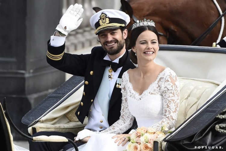 Prince Carl and Sofia Hellqvist