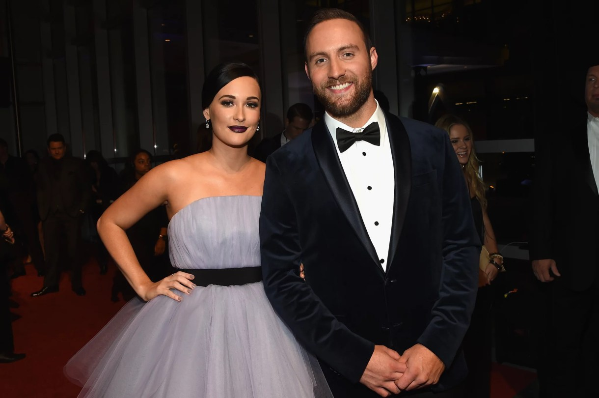 NASHVILLE, TN - NOVEMBER 02:  Kacey Musgraves and Ruston Kelly attend the 50th annual CMA Awards at the Bridgestone Arena on November 2, 2016 in Nashville, Tennessee.  (Photo by Rick Diamond/Getty Images)