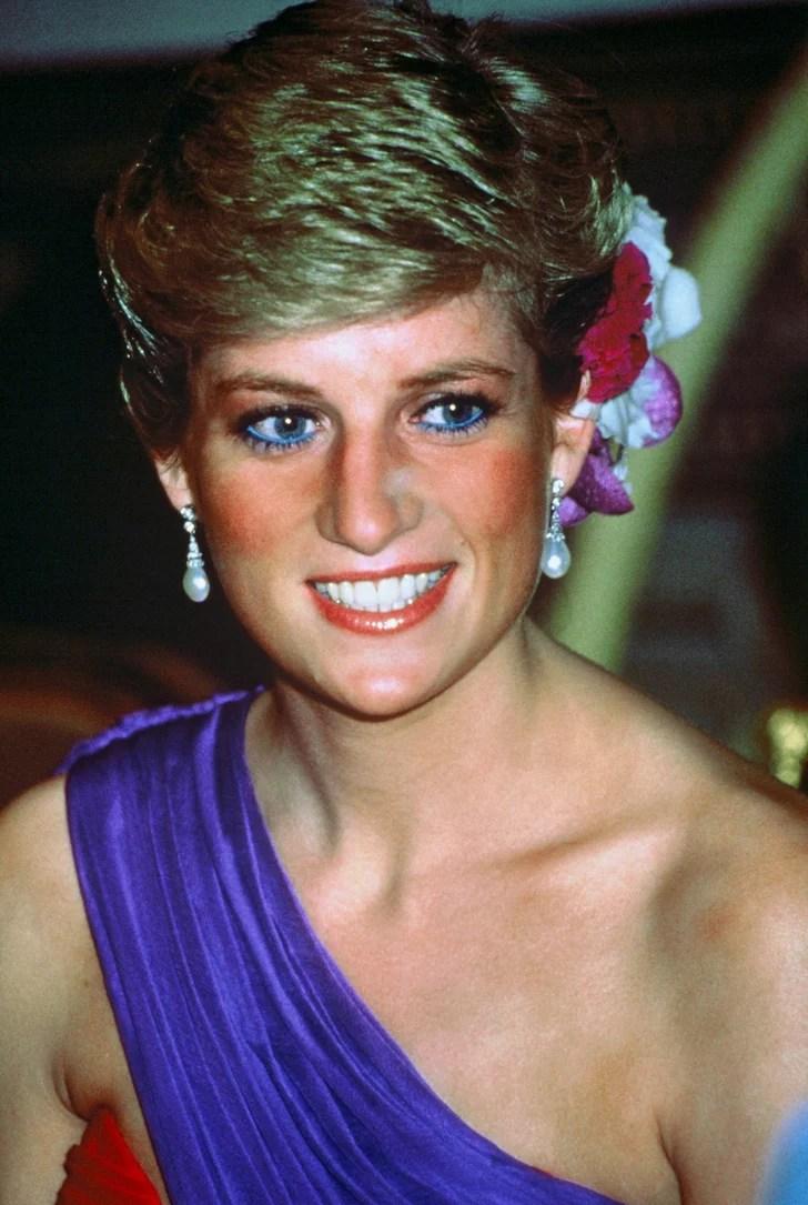 Princess Diana Beauty Blue Eyeliner POPSUGAR Beauty