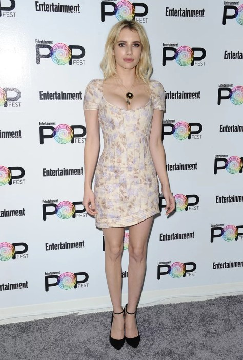 Emma Roberts Wearing Zimmermann