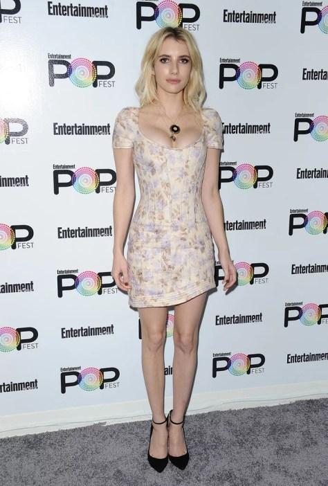 Emma Roberts Wearing Zimmermann