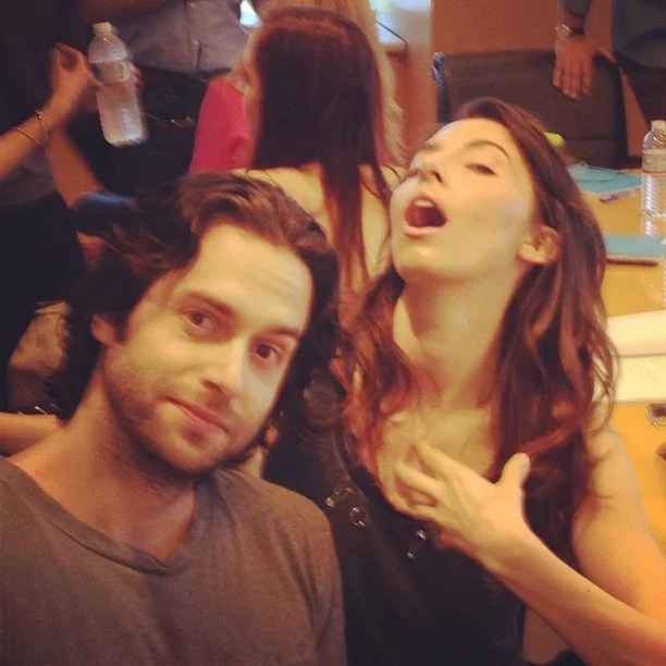 Whitney Cummings And Chris D Elia Goofed Around On Set Cute Candids Celebrities Shared This Week Popsugar Celebrity Photo 53