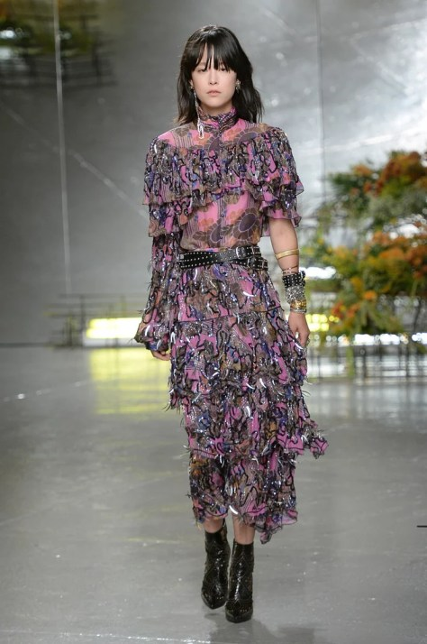 The Rodarte Spring '17 collection showed at NYFW on Sept. 13.