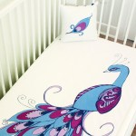 Peacock Baby Crib Fitted Sheet Peacock Nursery Decor That Will Make Your Heart Explode Popsugar Family Photo 18