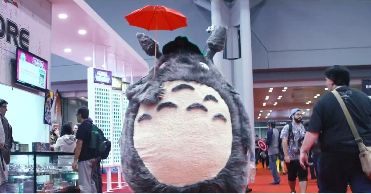 Adam Savages Totoro Costume POPSUGAR Australia Tech
