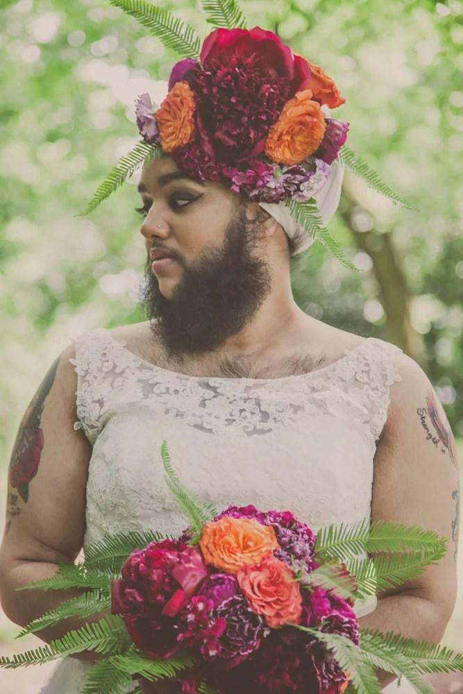 Bearded Woman Harnaam Kaur Instagram POPSUGAR Beauty
