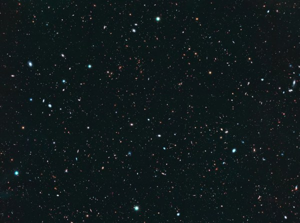 Here's what the Hubble Space Telescope sees.   The Hubble ...