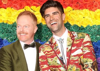 """Jesse Tyler Ferguson and Justin Mikita Are """"Overjoyed"""" After Welcoming Their First Child"""