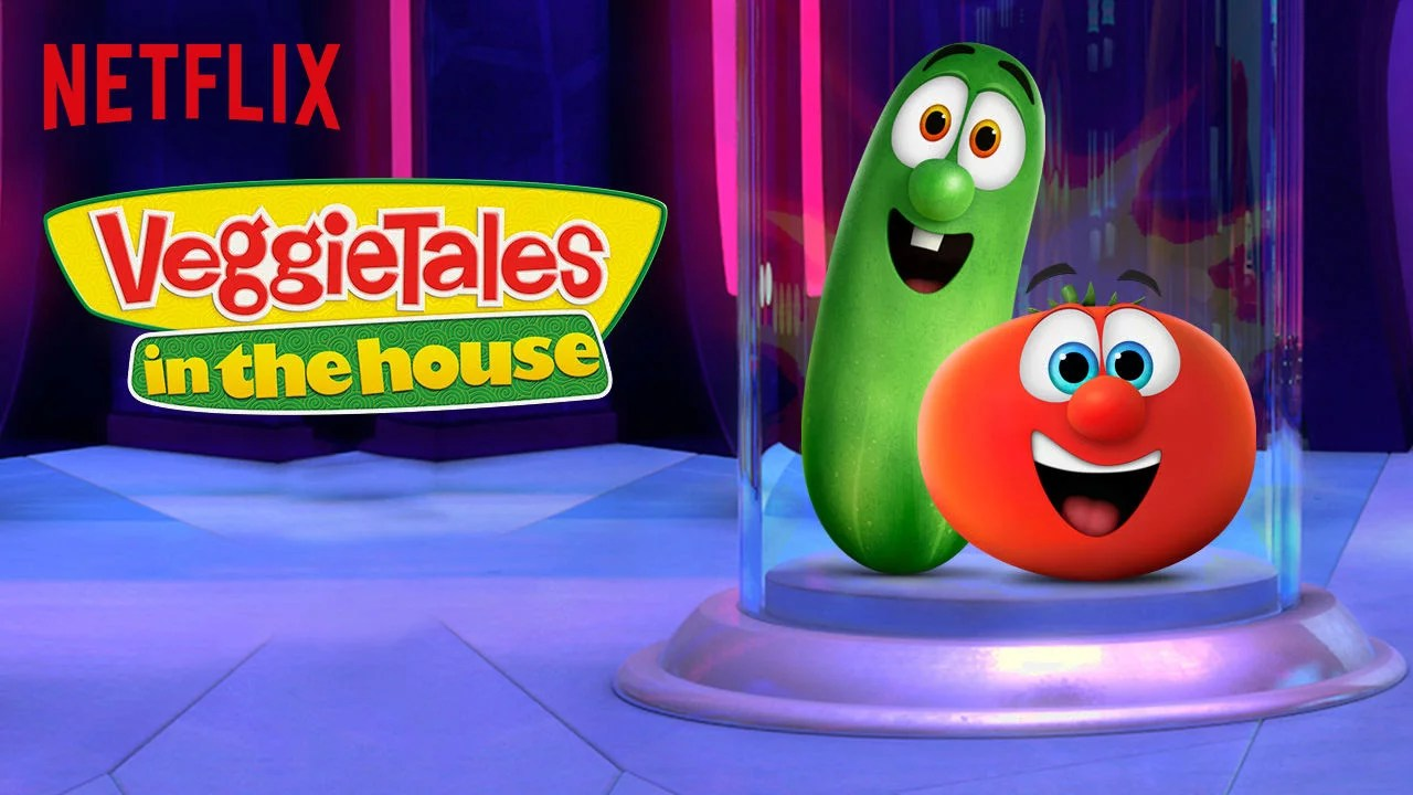 Veggietales In The House What Your Family Can Get Addicted To Um Enjoy On Netflix This September Popsugar Family Photo 10