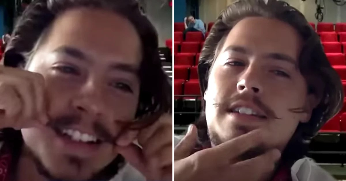 """Cole and Dylan Sprouse Are Competing to See Whose Mustache Is More """"Robust"""""""