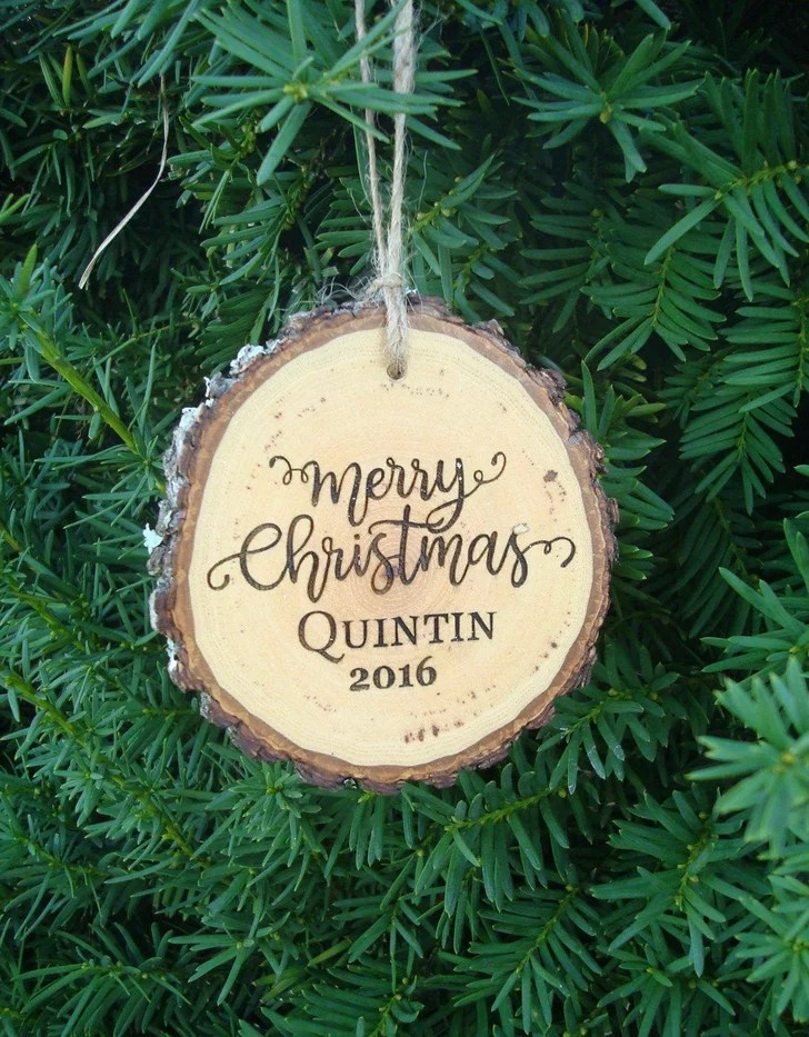 Personalized Christmas Ornaments For Kids And Families Popsugar Family